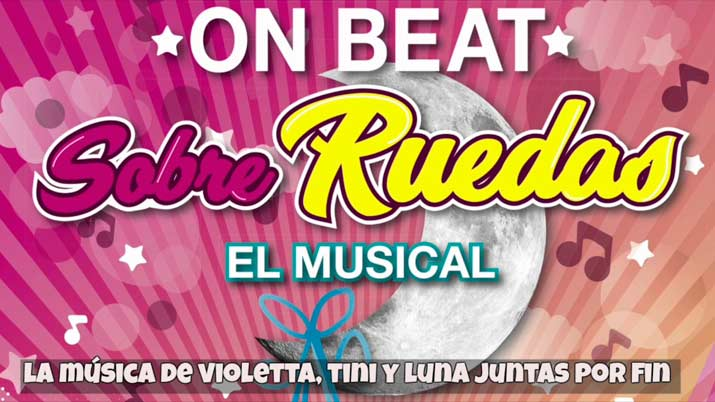 Luna On Beat, sobre ruedas