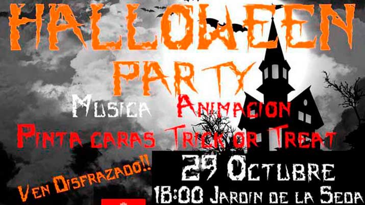 Halloween Party en el Jardín de la Seda