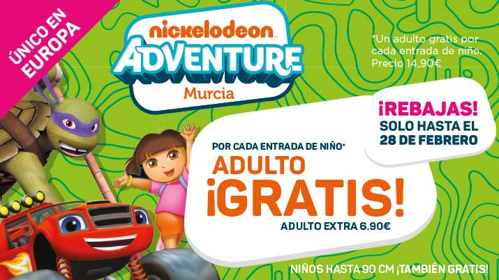 Nickelodeon Adventure Murcia