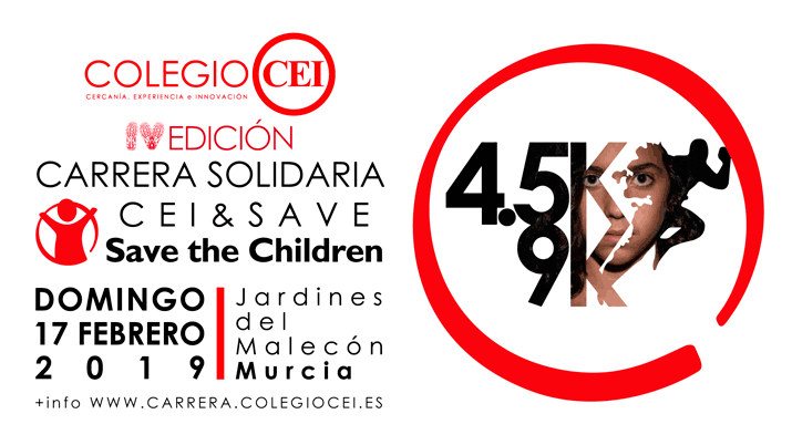 IV Carrera popular CEI & Save the children