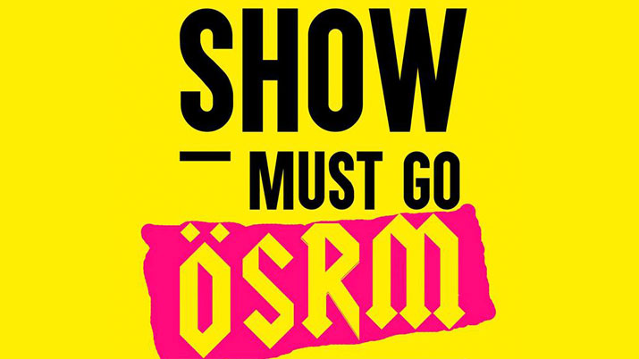Show must go OSRM