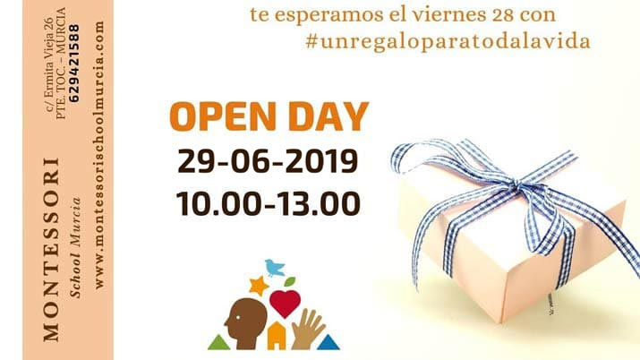 OpenDay en Montessori School Murcia
