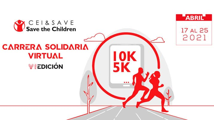 VI Carrera Solidaria Cei & Save the Children
