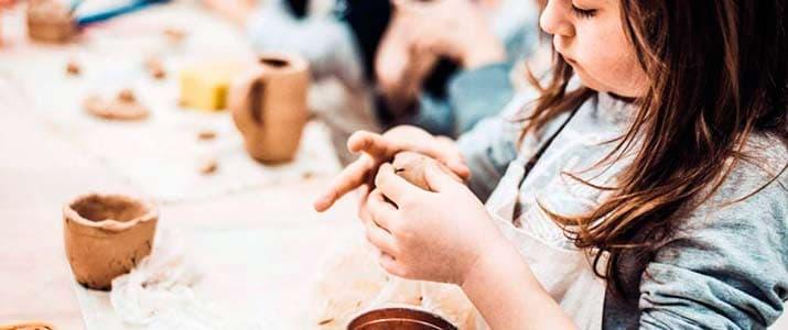 talleres infantiles artesania ceramica