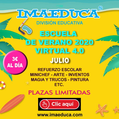 banner1 escuela de verano virtual imaeduca
