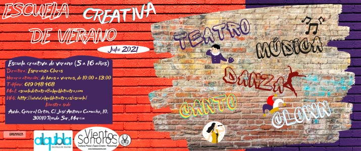 Escuela Creativa Vientos Sonoros+Alquibla Teatro