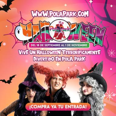 sky movil polapark halloween
