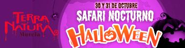 megabanner movil terranatura safari halloween 2021