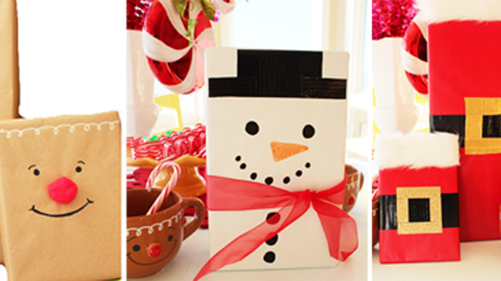 Ideas Para Regalar Navidad Manualidades.Ideas Originales Para Envolver Regalos De Navidad