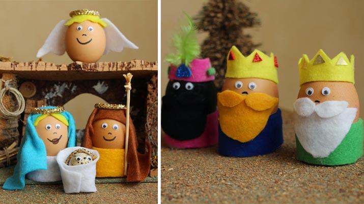 8 manualidades de reyes magos para decorar en navidad for Decoracion para reyes