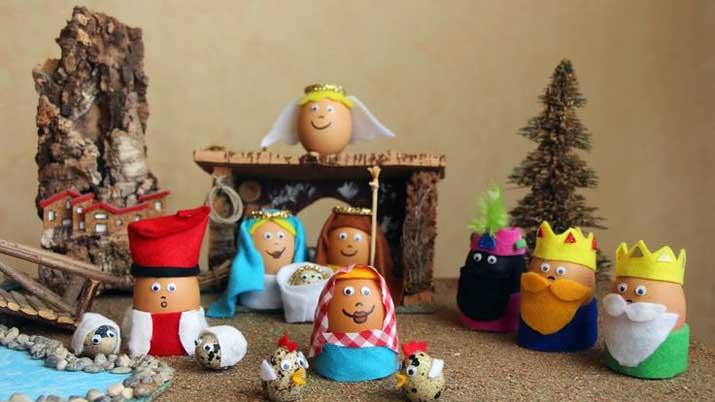 Manualidad Infantil Para Decorar La Navidad