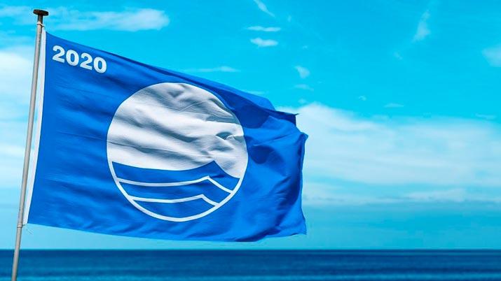 Playas de la Región de Murcia con bandera azul 2020