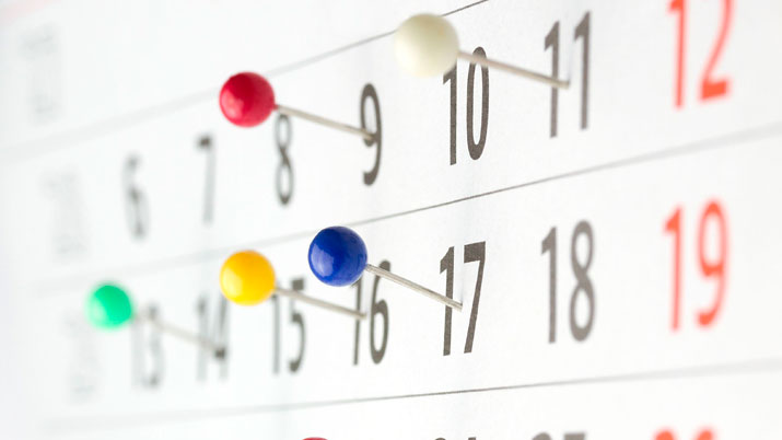 Calendario escolar y horario descargables