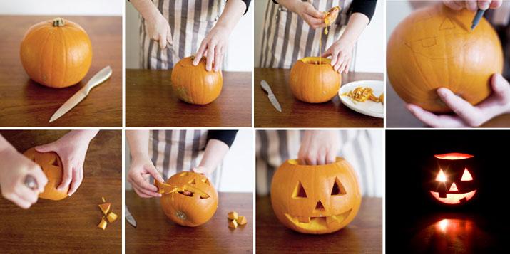 Calabazas originales para ni os en halloween - Decorar calabaza halloween ninos ...