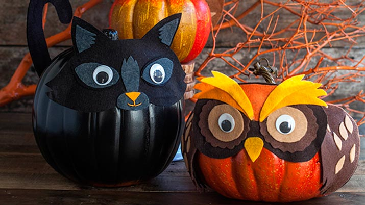 Calabaza halloween infantil imagui - Como hacer calabazas de halloween ...