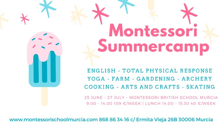 Summer Camp Montessori 2018