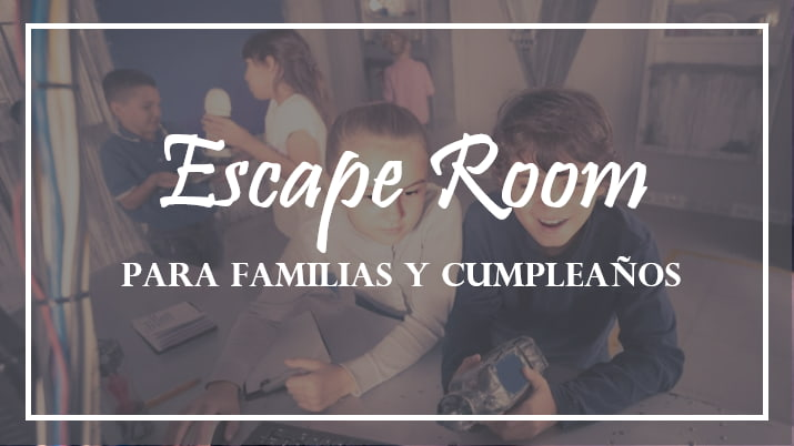 Escape Play, un escape room para toda la familia