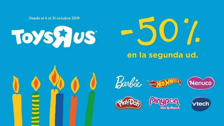 "Aniversario Toys""re""Us"