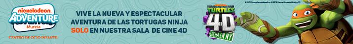 banner slider nickelodeon tortugas 4d