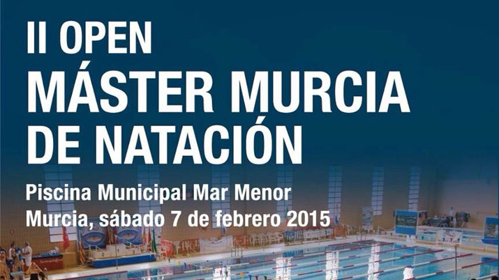 Ii open m ster nataci n for Piscina municipal molina de segura