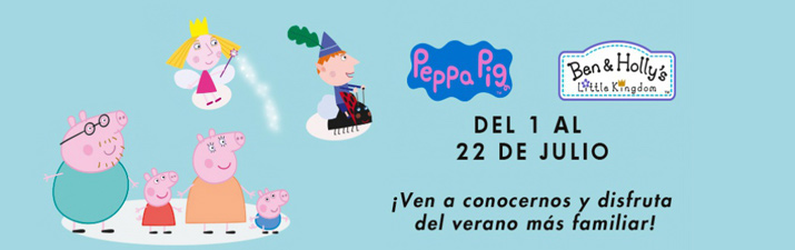 Peppa Pig en CC Nueva Condomina