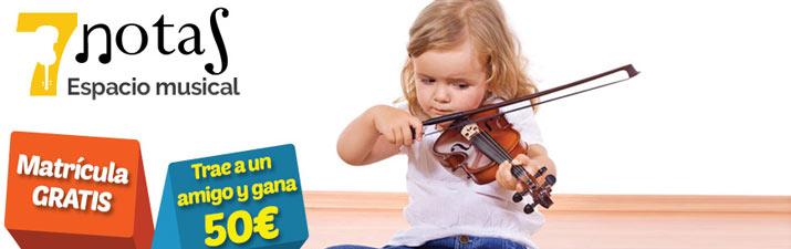 7 Notas Escuela de música