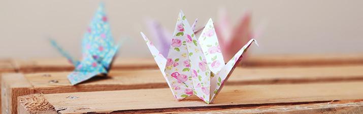 Móvil de origami