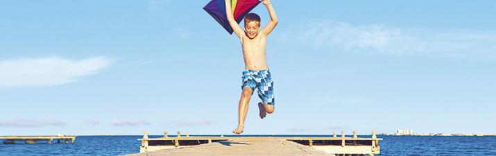 Verano con niños en la Región de Murcia