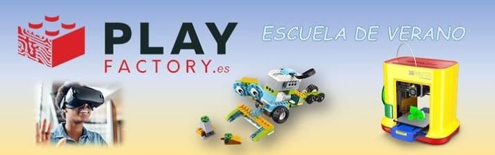 Escuela de verano PlayFactory