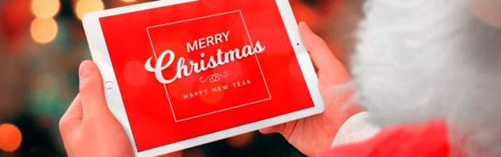 Apps para felicitar la Navidad