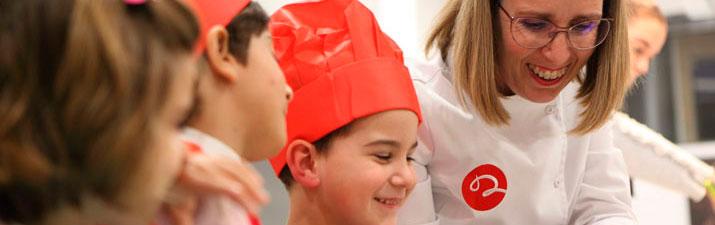 Menús para cocinar con niños